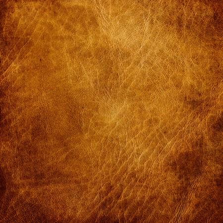 texture cuir marron: En cuir brun texture gros plan. Utile comme toile de fond pour les travaux de conception. Banque d'images