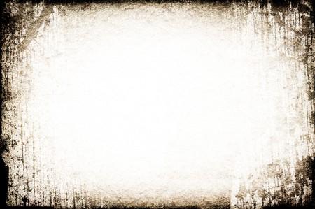 rusted background: Grunge brown frame. Useful as background for design-works.