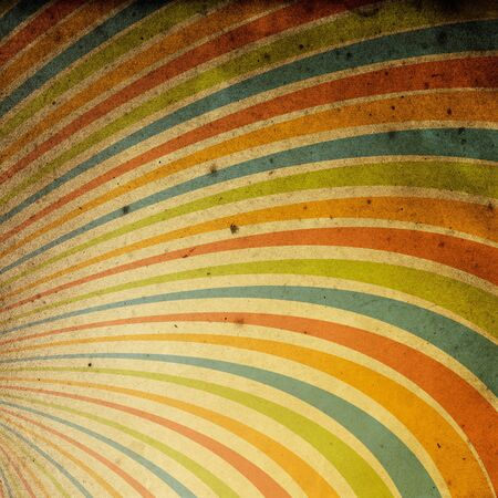 useful: Abstract vintage rays background. Useful as background for design works. Stock Photo
