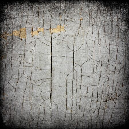 Cracked texture of old paint. Abstract grunge background. photo