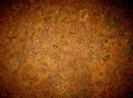 oxidado: Fondo de hierro oxidado de grunge