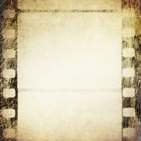 Grunge film frame. Abstract background for design-works. Stock Photo - 7575985