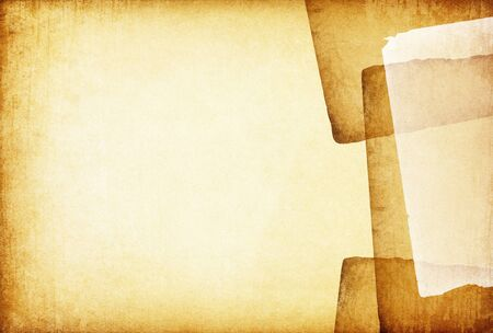 Vintage old papers abstract background. With space for text or image. Stock Photo - 7601778