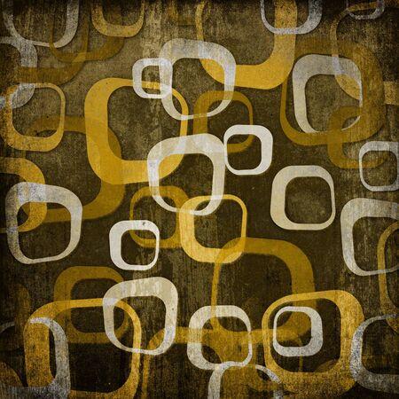 gamut: Retro ornament background, brown gamut.
