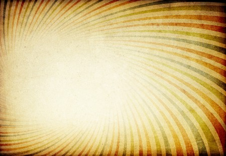 Retro colorful sunburst tunnel background. With space for text or image. Stock Photo - 7742639