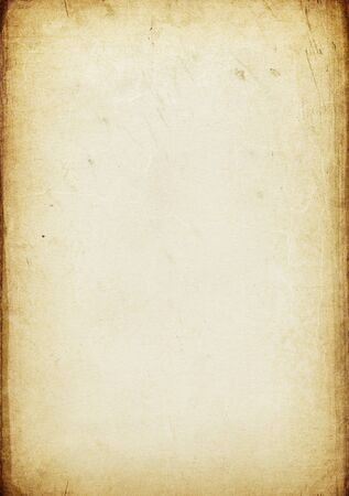 Vintage aged paper background Stock Photo - 7830798