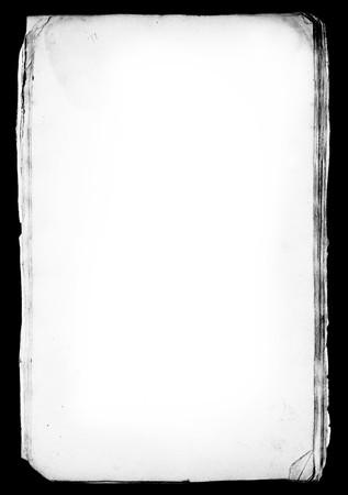overlays: Capa de mate de hojas de papel grungy. �til para superposiciones o tal cual
