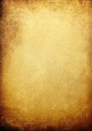 Vintage golden colored background photo