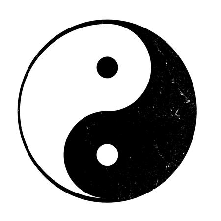 metaphysic: Yin yang, symbol of balance.