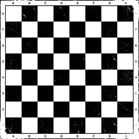 tablero de ajedrez: Tablero de ajedrez Vintage  Vectores