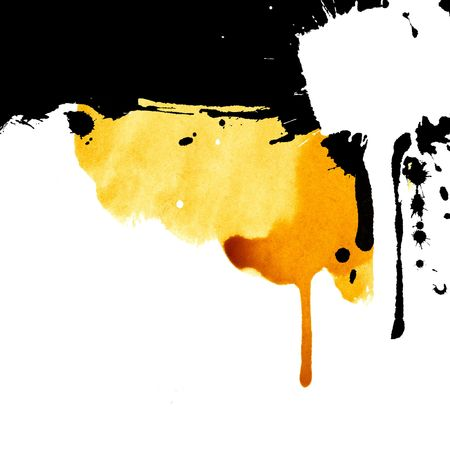 grease paint: Grunge stains background for text Stock Photo