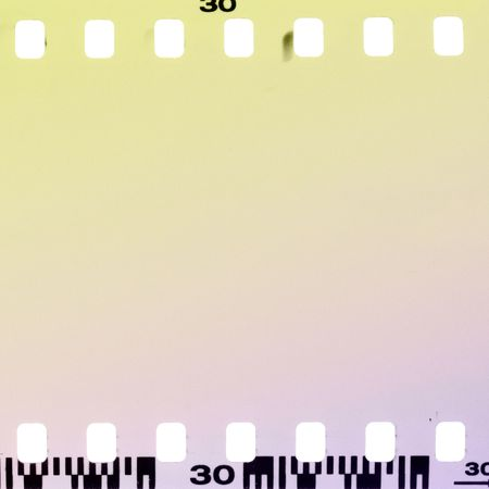unnecessary: Overexposed film frame abstract background.