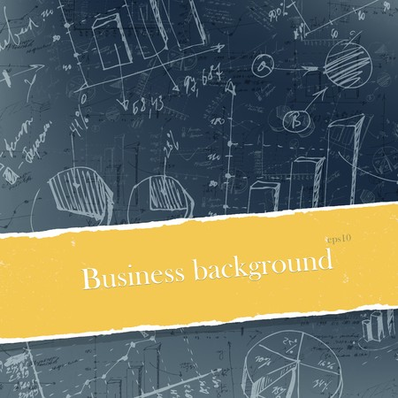 Business backgrounds set with copyspace. Easy editable by layers, eps10. photo