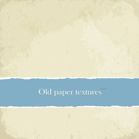 paper textures: Old paper textures set, easy editable by layers, eps10