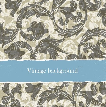 Vintage backgrounds set with copyspace. Easy editable by layers, eps10. photo
