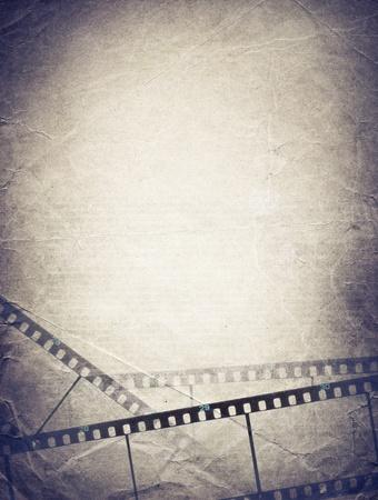 Grunge film strip backgrounds.