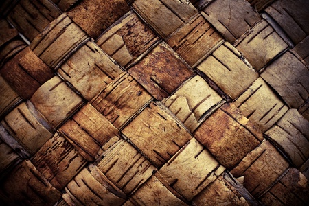 birch bark: Texture background plaited bast