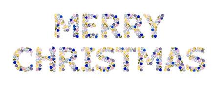 Gemstones words,  photo