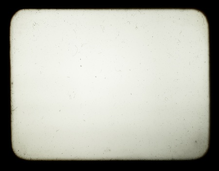 overlay: Snapshot of a blank screen of old slide projector, suited to achieve the effect of old photos. Stock Photo