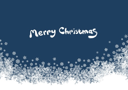 Christmas background with isolated edge  Vector