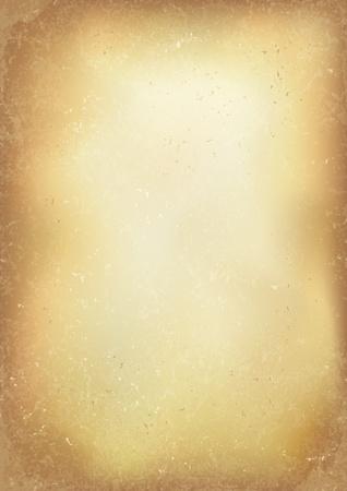 antikes papier: Jahrgang alten braunen realistische Papier Hintergrund. Illustration