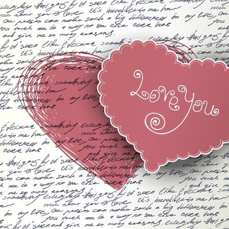 my dear: Valentines day background.
