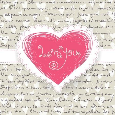 Cute Valentine Achtergrond