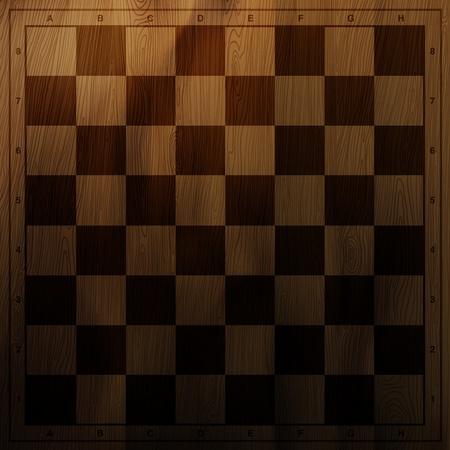 tablero de ajedrez: Vintage de ajedrez de fondo tablero. Vectores