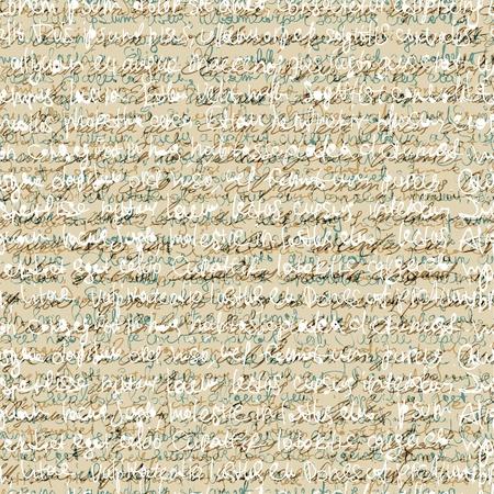 Naadloze abstracte handschrift patroon.