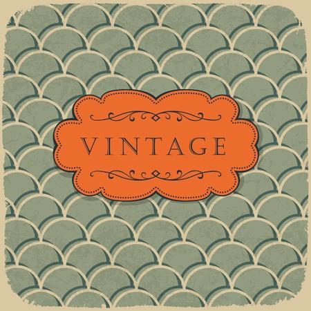 Vintage-Stil Hintergrund mit Skala-Muster.