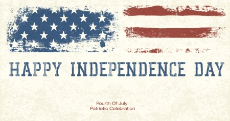 july fourth: Fourth Of July Patriotic Celebration Background. Vector, EPS10