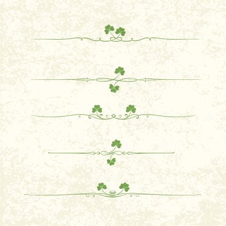 Design Elements For St  Patrick Vector