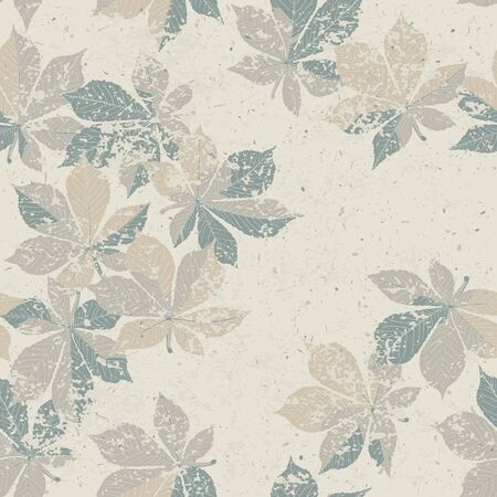 Autumn nature themed seamless pattern Stock Photo - 14709365