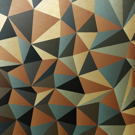 Brown gamut triangle patch surface. Stock Photo - 14707767
