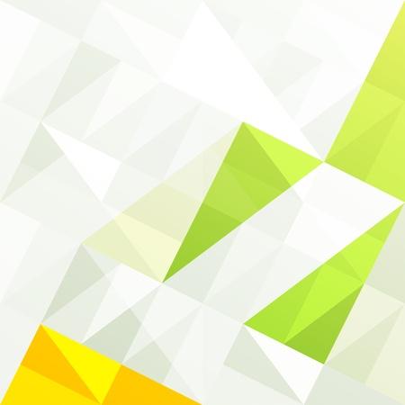 gamut: Green gamut geometric abstract background  Stock Photo
