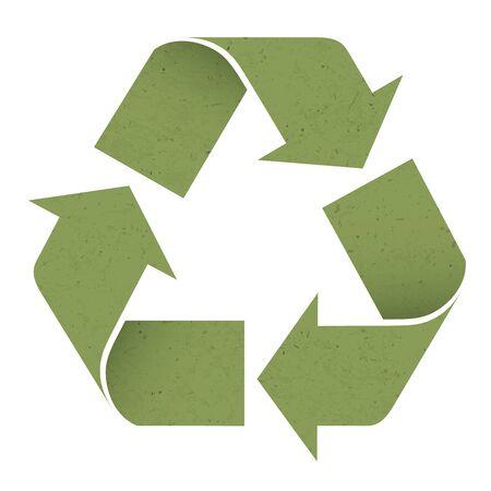 Green reuse symbol Stock Photo - 14707150