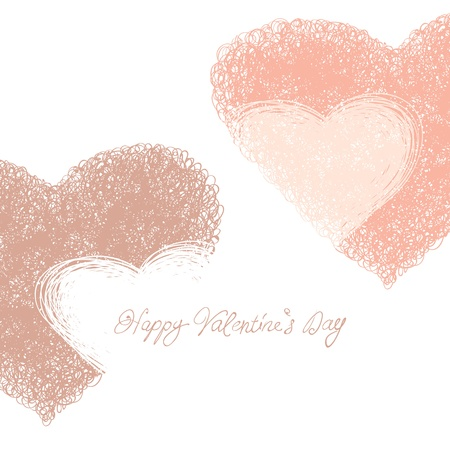 Happy Valentines Day card  Stock Photo - 14709196