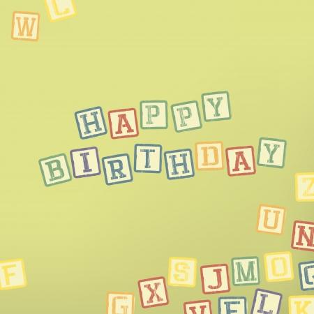 Happy birthday card Stock Photo - 14707472
