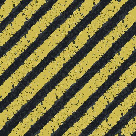 Hazard yellow lines Stock Photo - 14709386