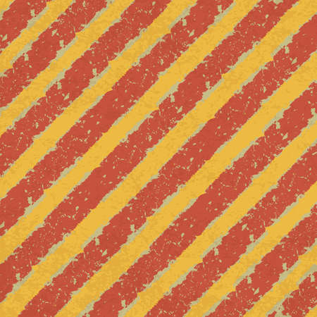 Yellow and Red Hazard Lines   Stock Photo - 14709230
