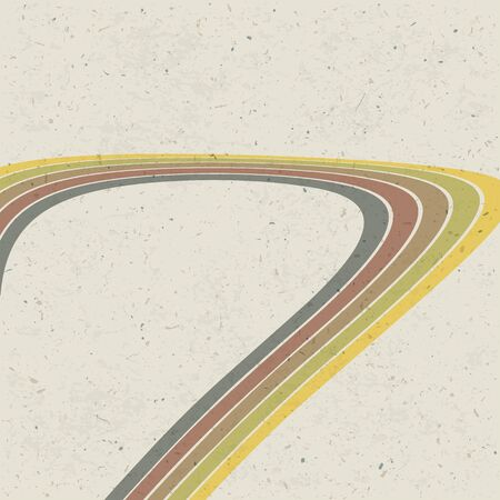 Retro lines abstract background  photo