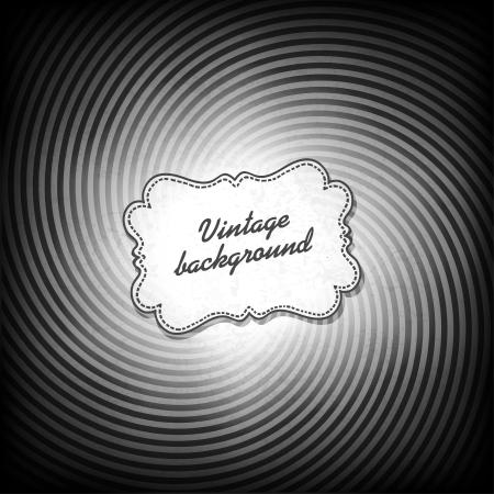 gamut: Retro background in black and white gamut.