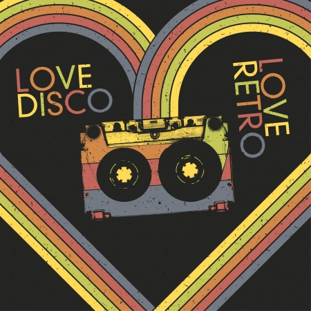 disco symbol: Love Disco, Love Retro.