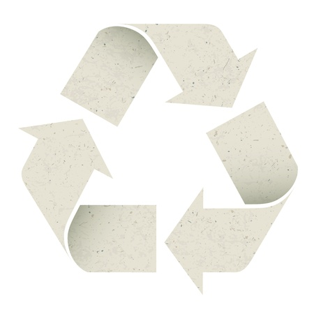 Reuse Symbol  Stock Photo - 14707152