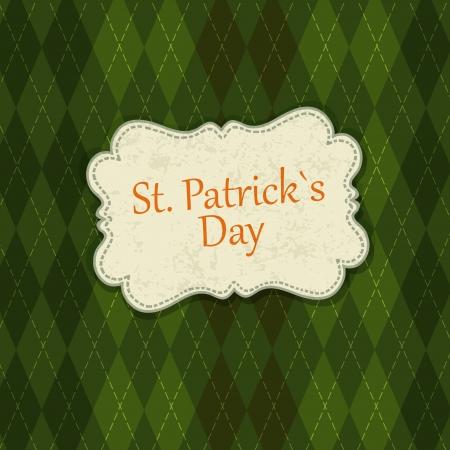 celtic design: Saint Patricks Day Card Design