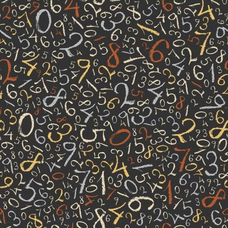 Color de fondo abstracto sin fisuras patrón de figuras matemáticas Foto de archivo - 14889623