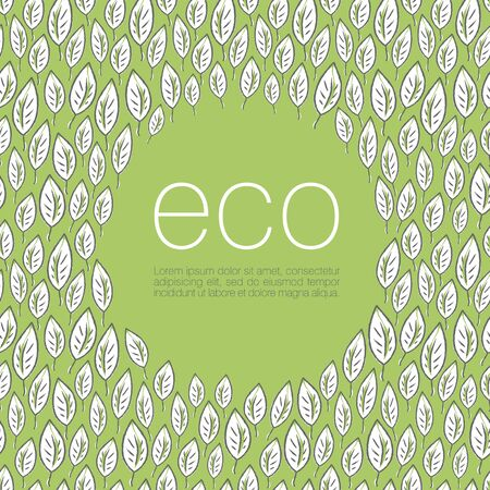 Ecology poster design background    Vector