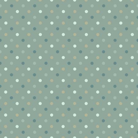 pattern pois: Seamless pattern a pois a freddo illustrazione gamma verde