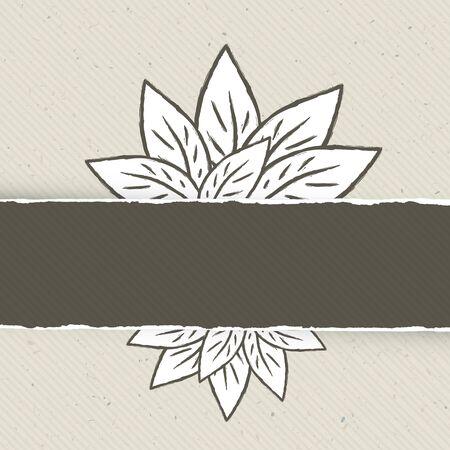 bordering: Naturaleza tem�tica plantilla abstracto bandera Ilustraci�n vectorial, EPS10 Vectores