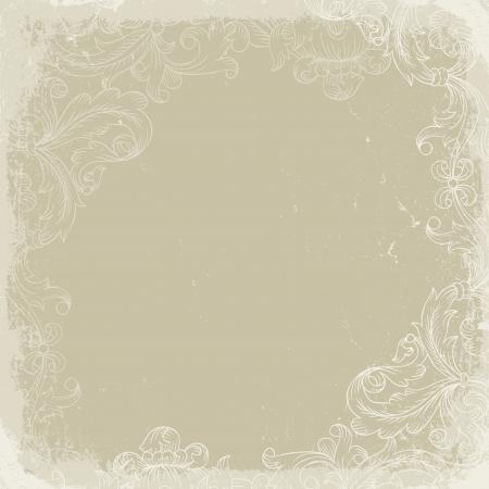 vintage backgrounds: Vintage background beige